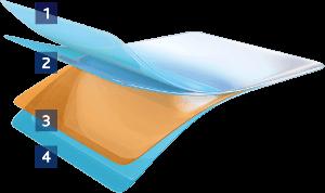 Struktura Sliminazer flastera
